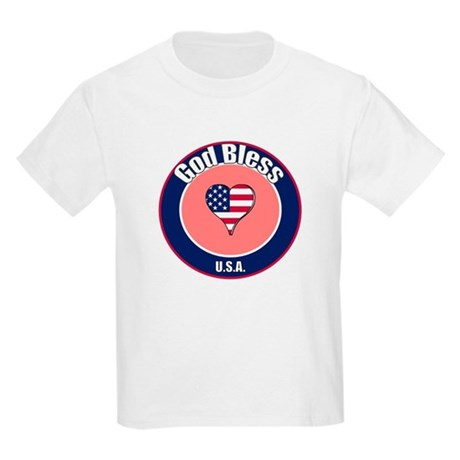 God Bless the USA t-shirt Kids Light T-Shirt