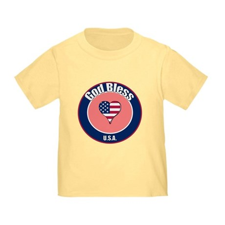 God Bless the USA t-shirt Toddler T-Shirt