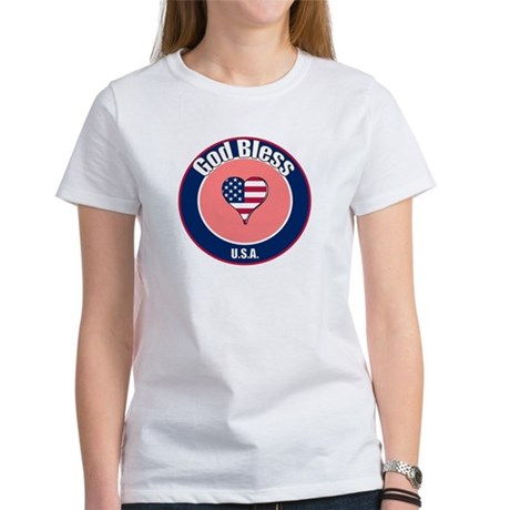 God Bless the USA t-shirt Women's T-Shirt