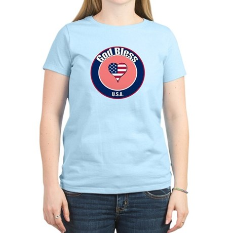 God Bless the USA t-shirt Women's Light T-Shirt