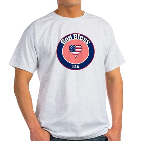 God Bless the USA t-shirt Light T-Shirt