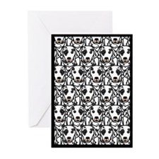Lots of Dalmatians Greeting Cards (Pk of 10)
