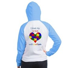 Unique Developmental delay Women's Raglan Hoodie