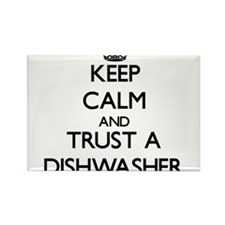Keep Calm and Trust a Dishwasher Magnets