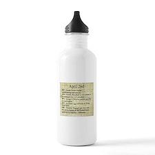 April 2nd Water Bottle