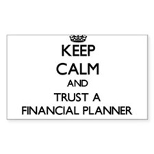 Keep Calm and Trust a Financial Planner Decal