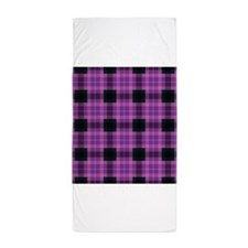 Plaid-19 Beach Towel