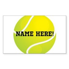 Personalized Tennis Ball Stickers