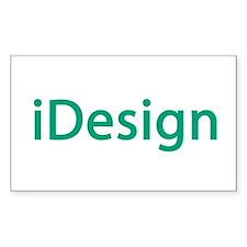 i design interior designer architect Decal
