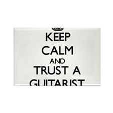 Keep Calm and Trust a Guitarist Magnets