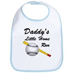 Dad's Home Run Bib