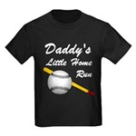 Dad's Home Run Kids Dark T-Shirt