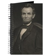 abraham lincoln  and padfolio Journal