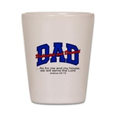 Christian Dad - Fathers Day Shot Glass
