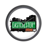 Eastchester Rd, Bronx, NYC Wall Clock
