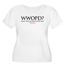 WWOPD? Women's Plus Size Scoop Neck T-Shirt