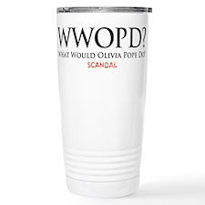 WWOPD? Stainless Steel Travel Mug