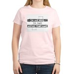 """I'm not evil..."" Women's Pink T-Shirt"