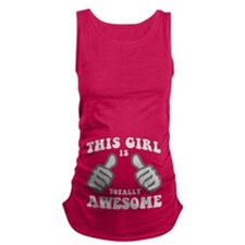 This Girl Is Awesome Maternity Tank Top