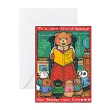 Special Teacher - Greeting Cards