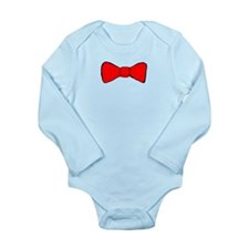 Red Bow Tie Body Suit