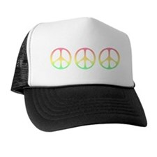 Pastel Peace Trucker Hat
