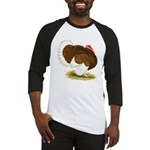 Bourbon Red Tom Turkey Baseball Jersey