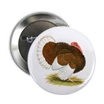 Bourbon Red Tom Turkey Button