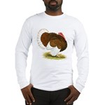 Bourbon Red Tom Turkey Long Sleeve T-Shirt