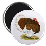 Bourbon Red Tom Turkey Magnet