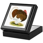 Bourbon Red Tom Turkey Keepsake Box