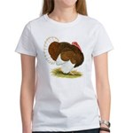 Bourbon Red Tom Turkey Women's T-Shirt