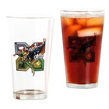 Thor VS Loki Drinking Glass
