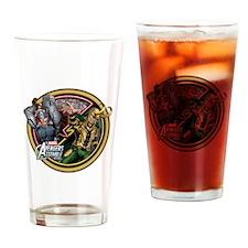 Thor VS Loki 2 Drinking Glass
