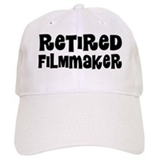 Retired Filmmaker Baseball Baseball Cap