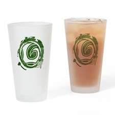 Loki Grunge Icon Drinking Glass