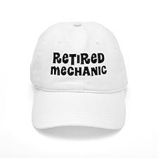 Retired Mechanic Baseball Baseball Cap