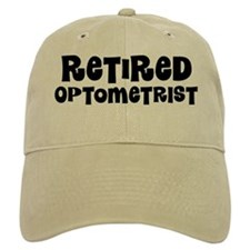 Retired Optometrist Baseball Baseball Cap