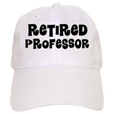 Retired Professor Baseball Baseball Cap
