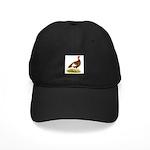 Bourbon Red Hen Turkey Black Cap