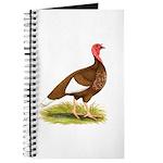 Bourbon Red Hen Turkey Journal