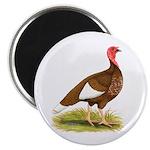 Bourbon Red Hen Turkey Magnet