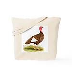 Bourbon Red Hen Turkey Tote Bag
