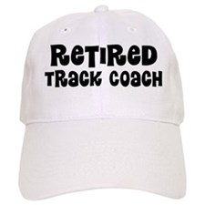 Retired Track coach Baseball Baseball Cap