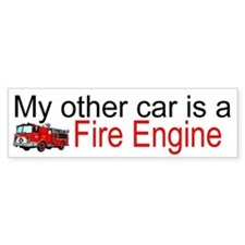 other car fire.jpg Bumper Bumper Sticker