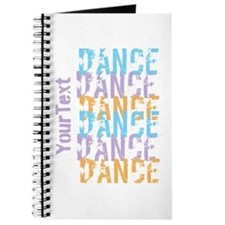Customize DANCE DANCE DANCE Journal