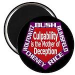 Culpability, Deception Magnet (100 pack)