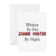 Writer/Zombie Hunter Greeting Card