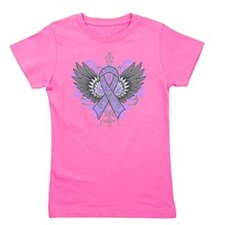 Rhett Syndrome Awareness Wings Girl's Tee