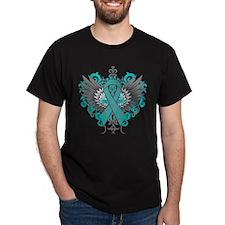 PCOS Awareness Cool Wings T-Shirt
